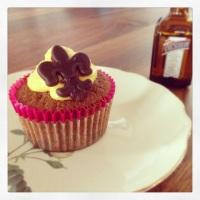 Die Lady unter den Cupcakes - feine Cointreau-Schokoladen-Cupcakes