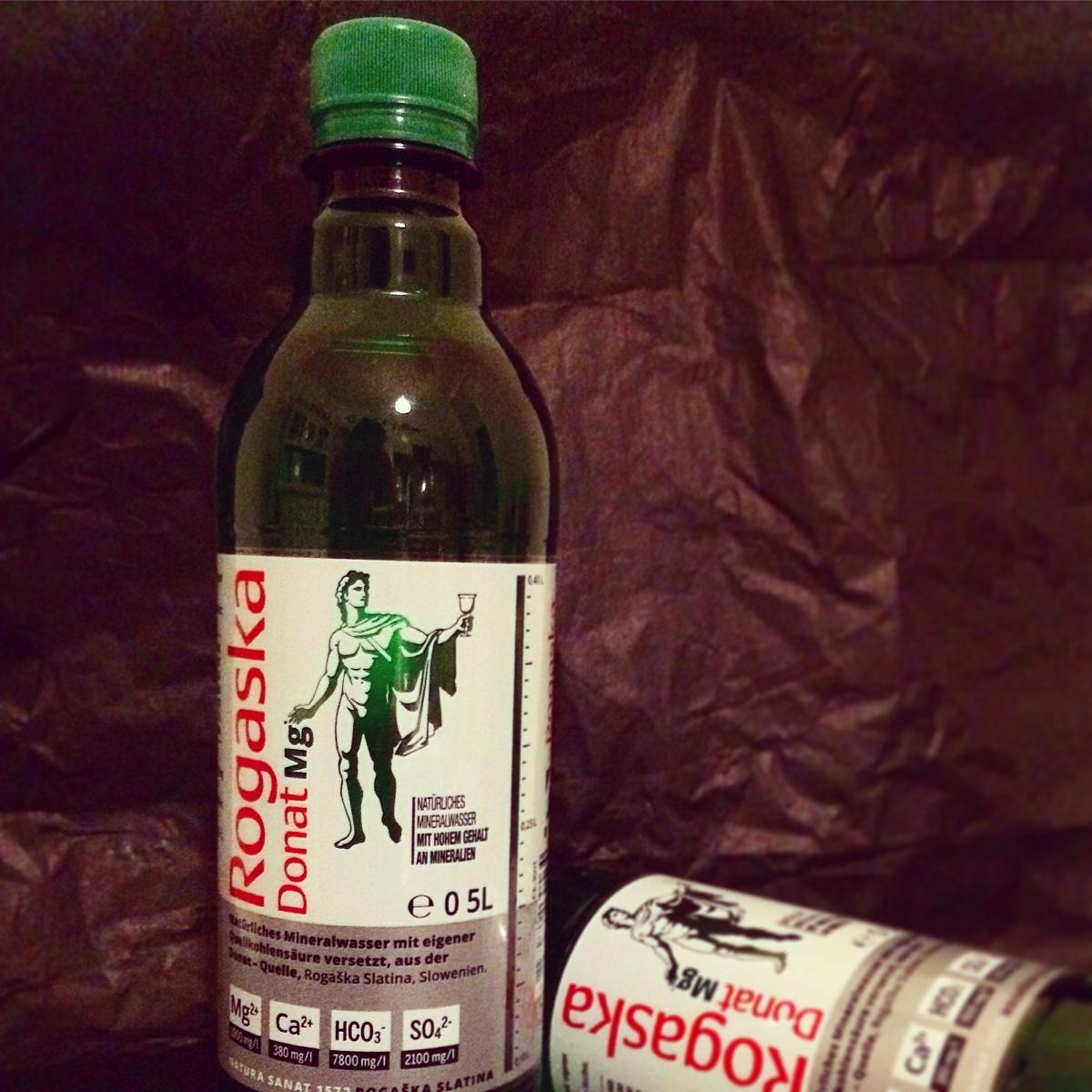 Rogaska Donat Mg -  Magnesiumwasser für müde Knochen